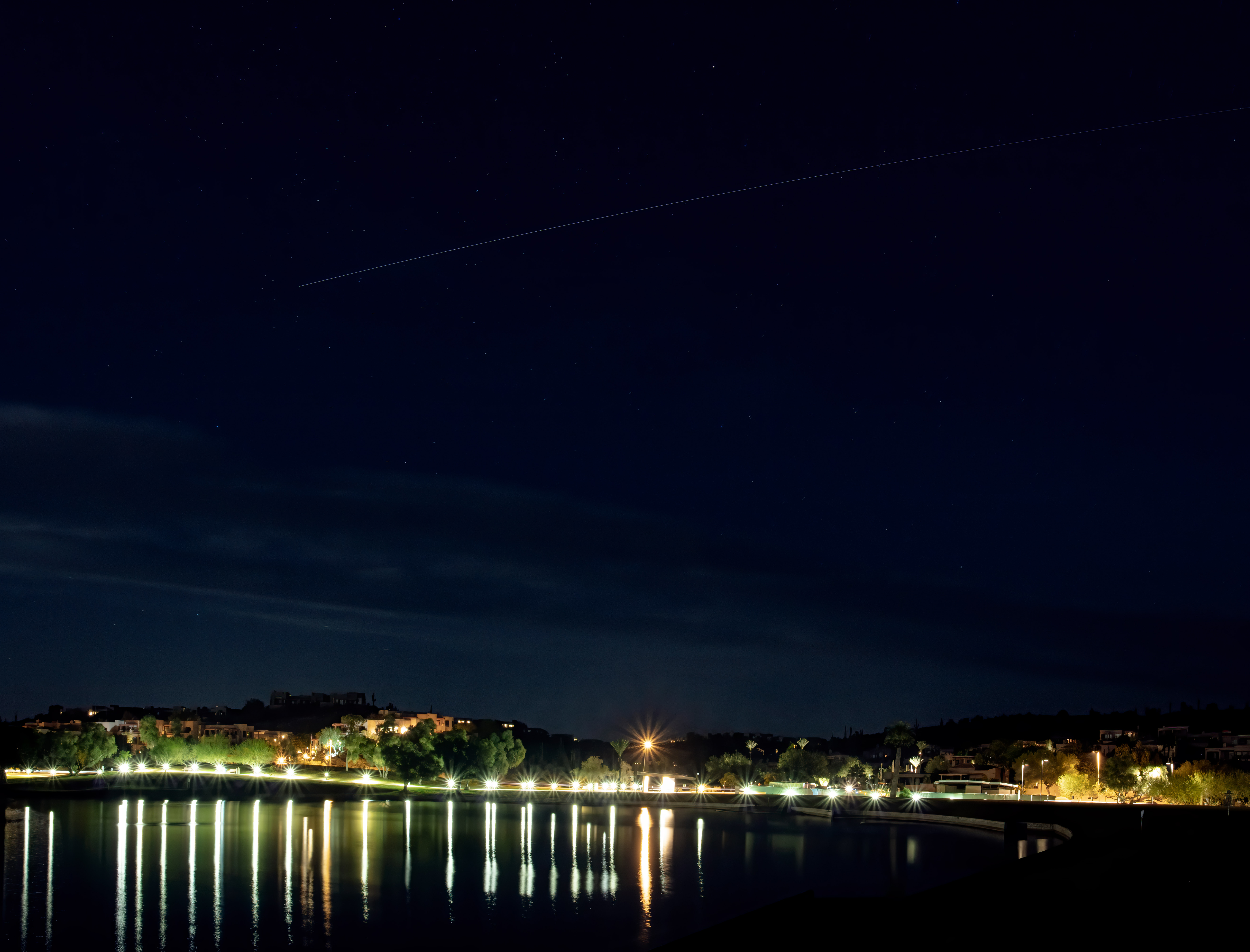 ISS Flyover in Fountain Hills November 2019